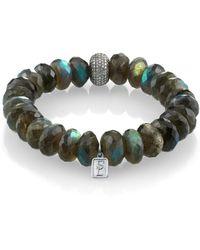 Sheryl Lowe - Labradorite Mix Bracelet - Lyst