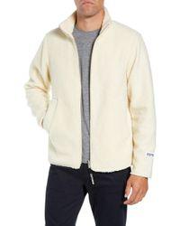 Stutterheim - Varby Reversible Fleece Jacket - Lyst