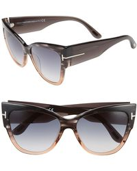 74dff723403af Lyst - Tom Ford Sunglasses Anoushka Tf 371 Ft 38b Bronze other ...