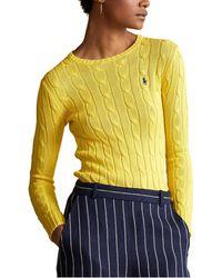 Polo Ralph Lauren - Julianna Cable Sweater - Lyst