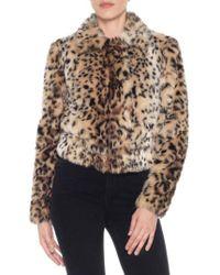 Joe's - Kate Faux Fur Jacket - Lyst