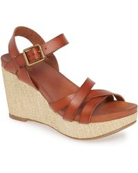 MIA Darnell Wedge Sandal - Brown