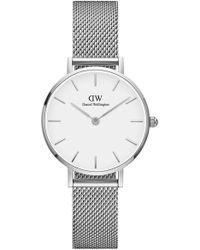 Daniel Wellington - Classic Petite Sterling Stainless Steel Watch - Lyst