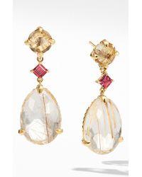 David Yurman - Chatelaine Drop Earrings In 18k Yellow Gold - Lyst