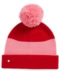 ec89374bb08 Lyst - Kate Spade New York 3d Merino Wool Ski Hat in Gray