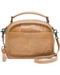 Frye - Melissa Top Handle Mini Leather Crossbody - Lyst