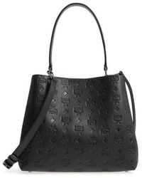 MCM - Sara Leather Convertible Hobo - - Lyst
