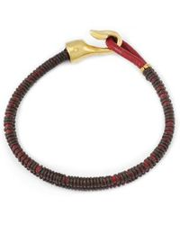George Frost - Thin Double Strand Bracelet - Lyst