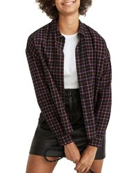 Madewell Westlake Flannel Button-up Shirt - Multicolor