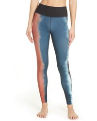 Hurley Quick Dry Gradient Surf Leggings - Blue