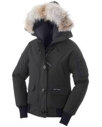 Canada Goose - 'chilliwack' Regular Fit Down Bomber Jacket With Genuine Coyote Fur - Lyst