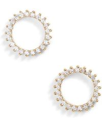 Nordstrom - Pave Open Starburst Stud Earrings - Lyst
