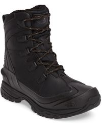 The North Face Chilkat Evo Waterproof Insulated Snow Boot - Brown