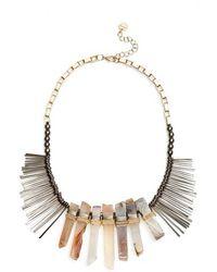 Nakamol - Stone Stick Bib Necklace - Lyst
