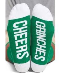 Sockart - Cheers Grinches Crew Socks - Lyst