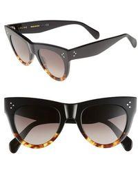 Céline - 51mm Cat Eye Sunglasses - Lyst