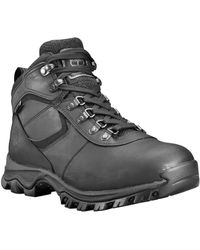 Timberland Mt. Maddsen Waterproof Hiking Boot - Black