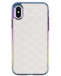 Rebecca Minkoff | Luxe Quilted Leather Iphone X Case | Lyst