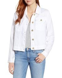 Tommy Bahama Two Palms Crop Jacket - White