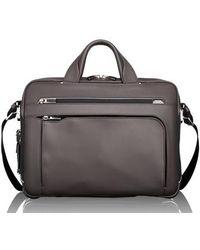 Tumi - Arrive - Sawyer Leather Briefcase - - Lyst