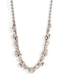 Sorrelli - Sparkling Siren Crystal Necklace - Lyst