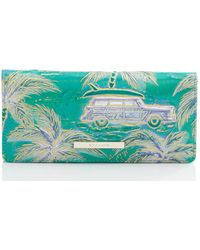 Brahmin Ady Leather Wallet - Multicolor