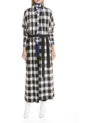 Christian Wijnants - Oversize Check Cardigan - Lyst