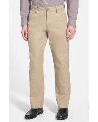Cutter & Buck - Beckett Straight Leg Washed Cotton Pants - Lyst