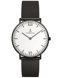 KAPTEN & SON - Campus Mesh Strap Watch - Lyst