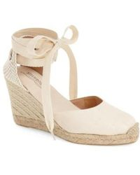 Soludos - Wedge Lace-up Espadrille Sandal - Lyst