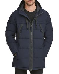 Marc New York - Holden Water Resistant Down & Feather Fill Quilted Coat - Lyst