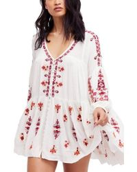 Free People - Arianna Tunic - Lyst
