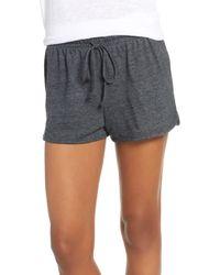 Joe's Retro Pajama Shorts - Black