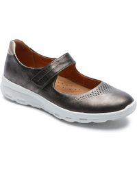 Rockport Mary Jane Walking Shoe - Brown