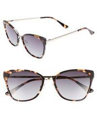 Chelsea28 - Origami 55mm Cat Eye Sunglasses - Lyst