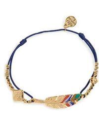 Gas Bijoux - 'penna' String Bracelet - Lyst