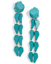 Lele Sadoughi - Confetti Wisteria Drop Earrings - Lyst