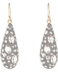 Alexis Bittar - Diamond Dust Dewdrop Earrings - Lyst