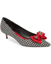Butter Shoes - Butter Bentley Bow Pointy Toe Pump - Lyst