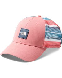 The North Face - Mudder Trucker Hat - Coral - Lyst