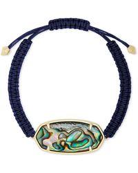 Kendra Scott Elle Friendship Bracelet - Blue