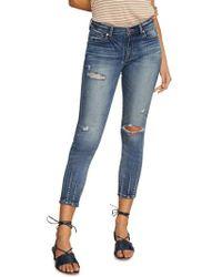 Habitual - Marina Dart Hem Ankle Skinny Jeans - Lyst