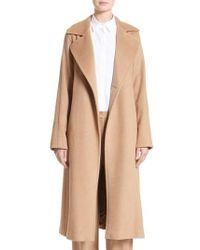 Max Mara - 'manuela' Camel Hair Coat - Lyst