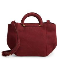 Madewell - D-ring Handle Leather Mini Bag - - Lyst
