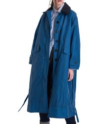 Barbour - X Alexachung Maisie Waxed Cotton Coat - Lyst