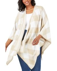 Foxcroft The Walker In Diamond Plaid - Natural