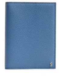 Stefano Serapian Evolution Leather Passport Case