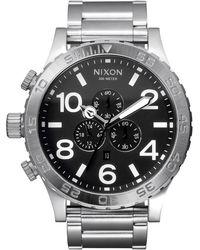 Nixon 'the 51-30 Chrono' Watch - Metallic