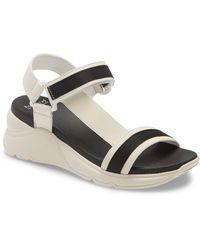 Hispanitas Brenda Platform Wedge Sandal - White