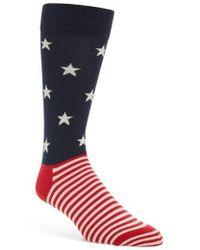 Happy Socks - Stars & Stripes Socks - Lyst